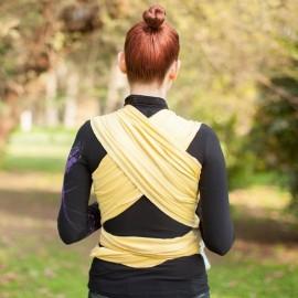 Fascia elastica portabebè Neko Slings giallo