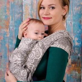 Neko Half Buckle regolabile Baby Size Lokum Hazel - Neko Slings