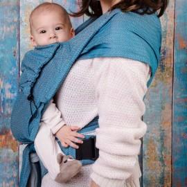 Neko Half Buckle regolabile Baby Size Basic Ocean Rise - Neko Slings