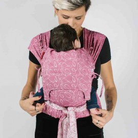 Neko Tai mei tai regolabile Toddler Myra Orchid - Neko Slings