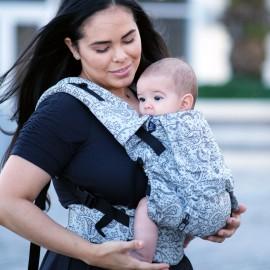 Marsupio Ergonomico Regolabile Neko Switch Baby Size Efes Paisley Hazel Light