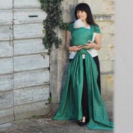 Fascia rigida Herringbone Emerald - Huggyberry