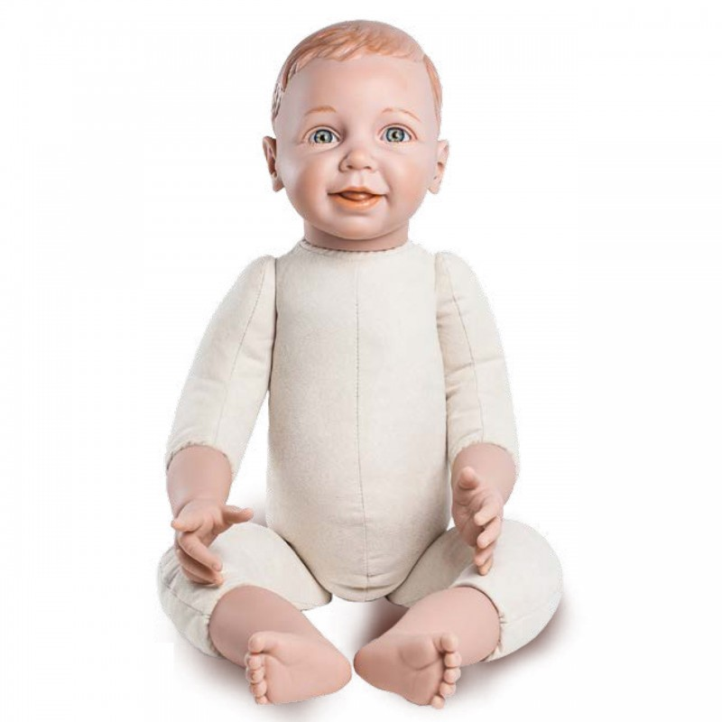 Bambola didattica per babywearing toddler 70 cm