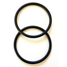 Anelli in alluminio per fasce (nero)