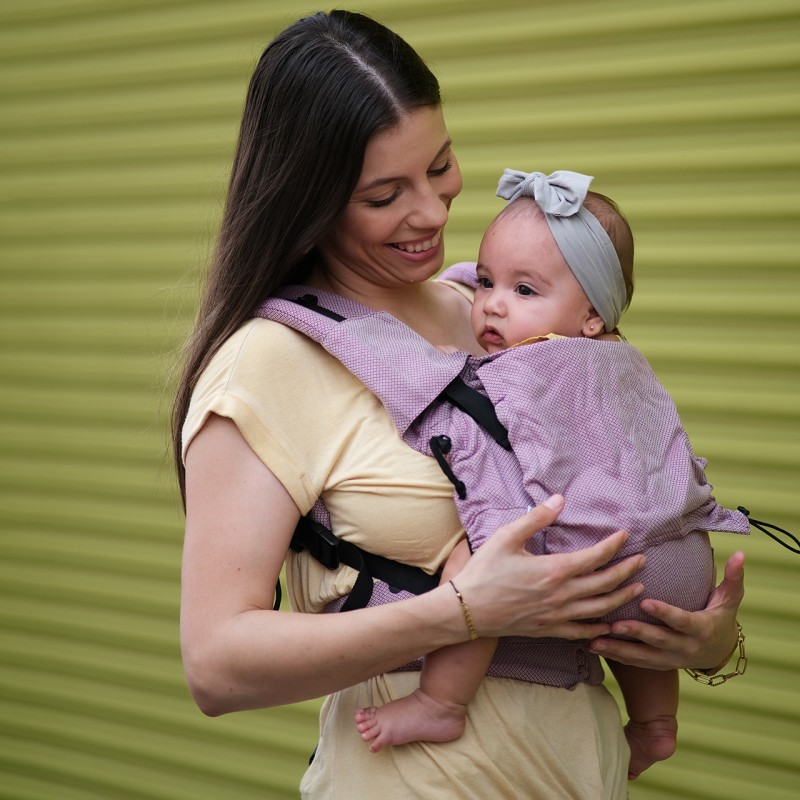 Marsupio Ergonomico Regolabile Neko Switch Baby Size Cotton Candy