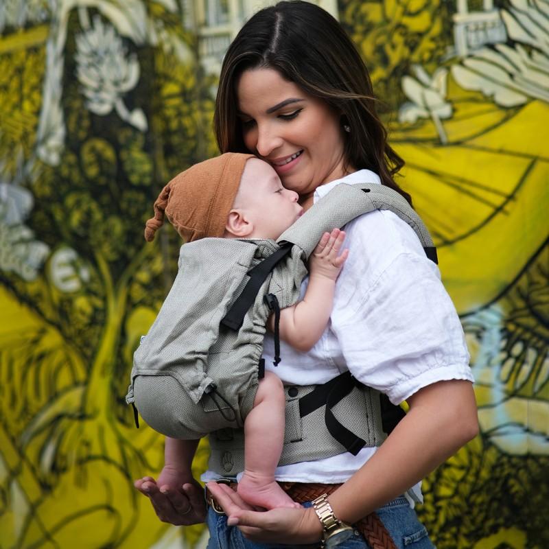 Marsupio Ergonomico Regolabile Neko Switch Baby Size Moss