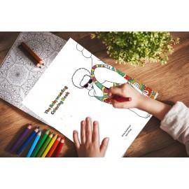 Album da colorare The Babywearing Coloring Book