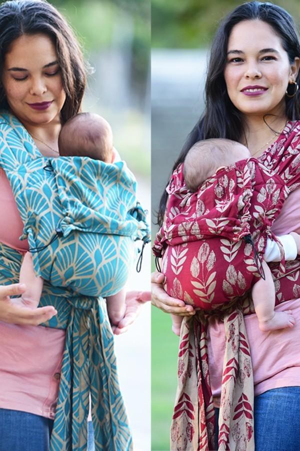 Neko Tai e Half Buckle: i gemelli diversi del babywearing